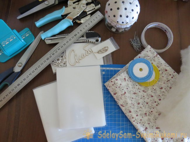 How to make a photo album with your own hands