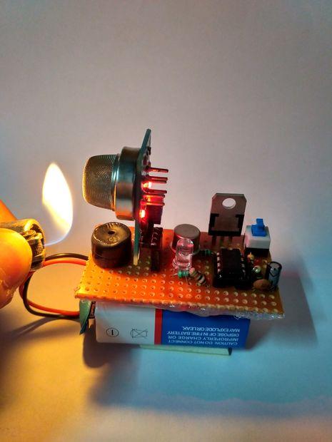 Gas leak sensor do it yourself