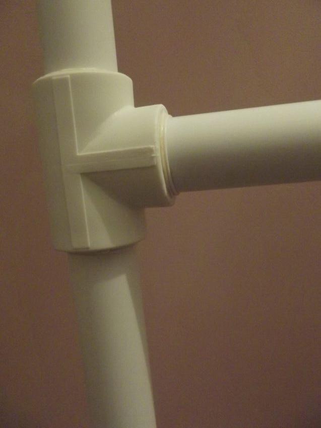 Гимнастическая шведская стенка из полипропиленовых труб