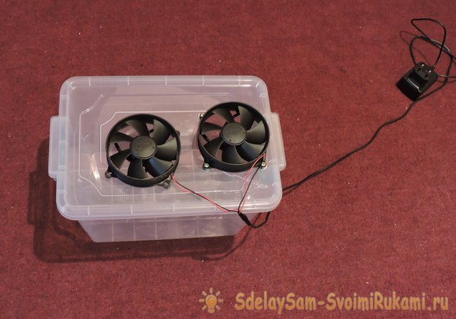 Simple mini air conditioner do it yourself