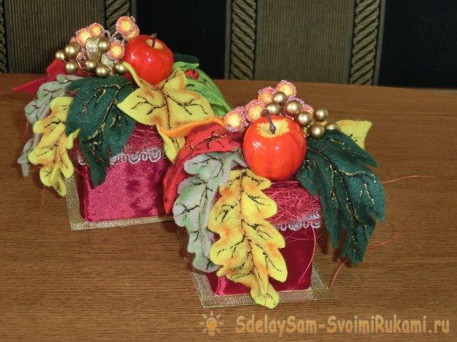 Букет из фетра своими руками, мастер класс (розы, анемоны )