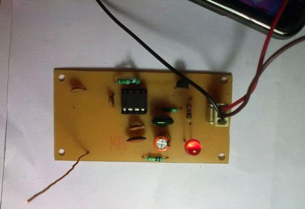 Simple Mobile Signal Detector Scheme