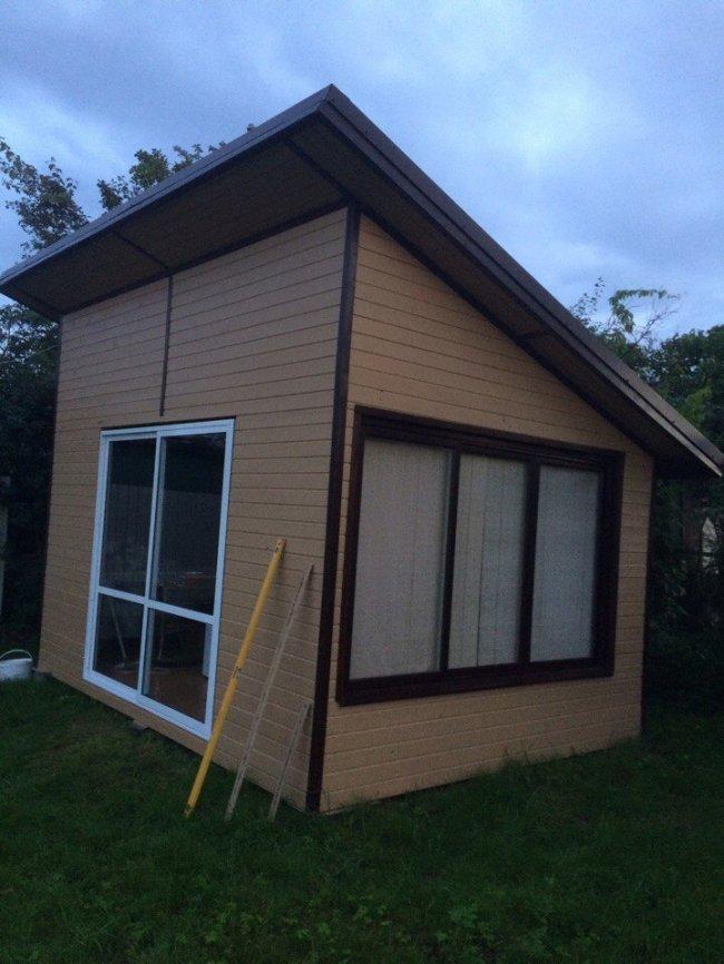 Строим летний домик