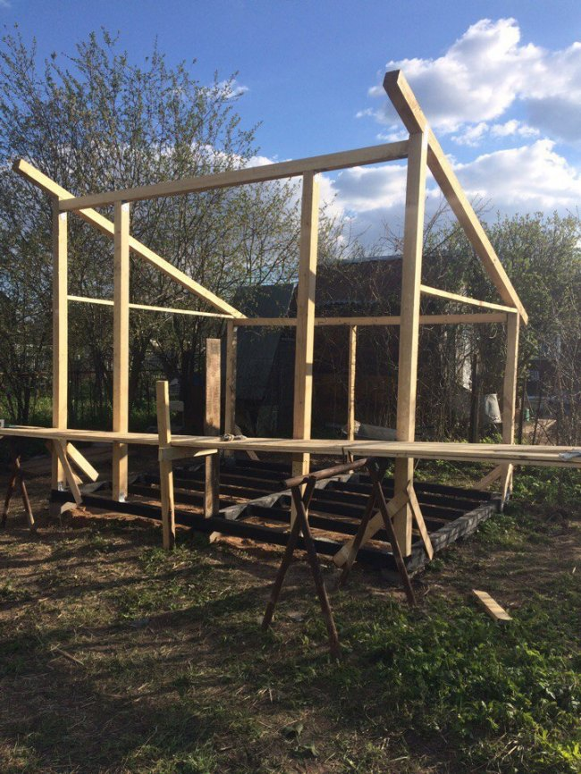 We are building a summer house
