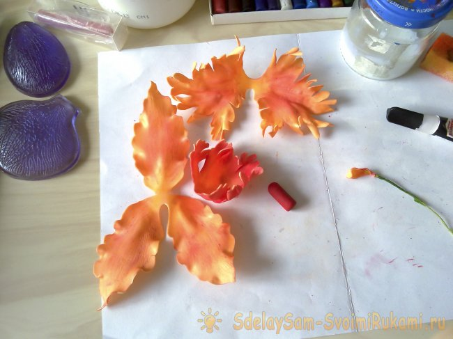 Orchid - Christmas decoration for hair