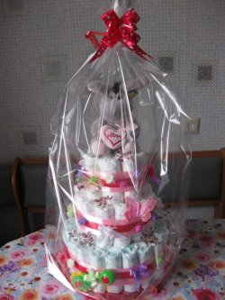 Gift Cake from Pampers
