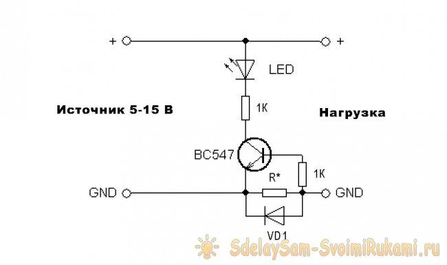 Индикаторы постоянного тока и их применение