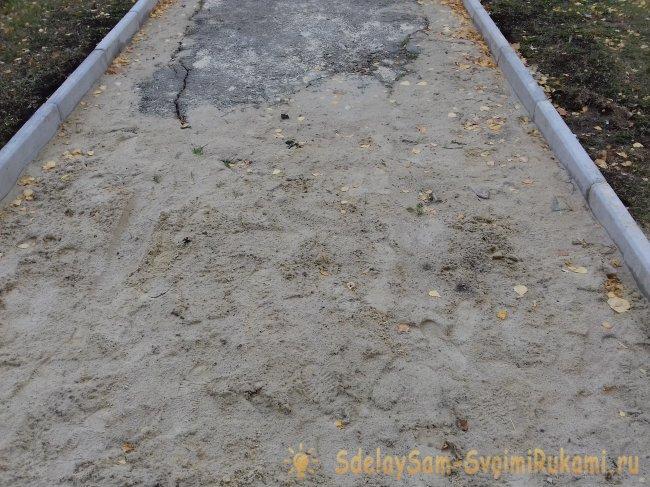 Укладка тротуарной плитки своими руками – инструкция
