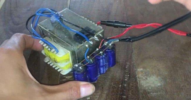 Simple spot welding machine