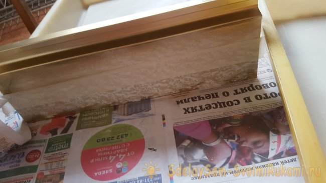 Do-it-yourself kitchen furniture restoration