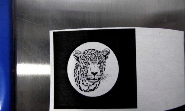 Перенос рисунка на металл с обычной бумаги. Травление