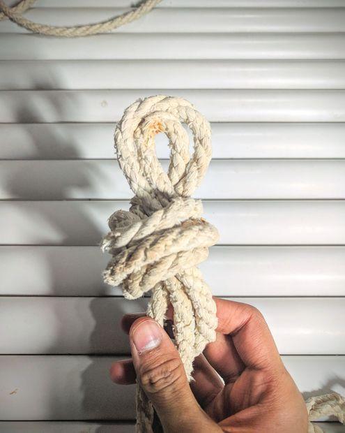 Гамак из пластиковых труб