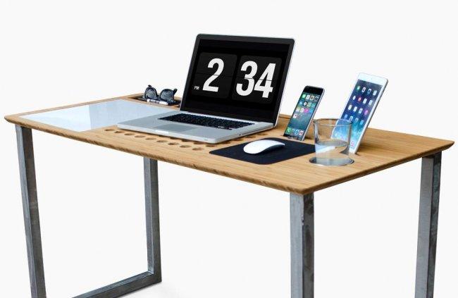 Современный компьютерный стол своими руками