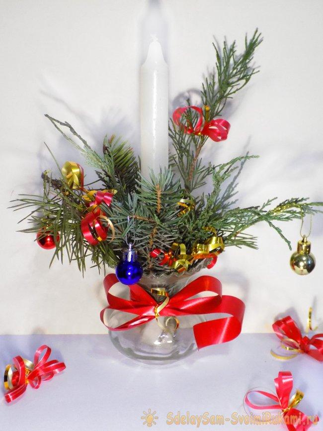 Новогодние идеи своими руками - украшения, елки, икебаны