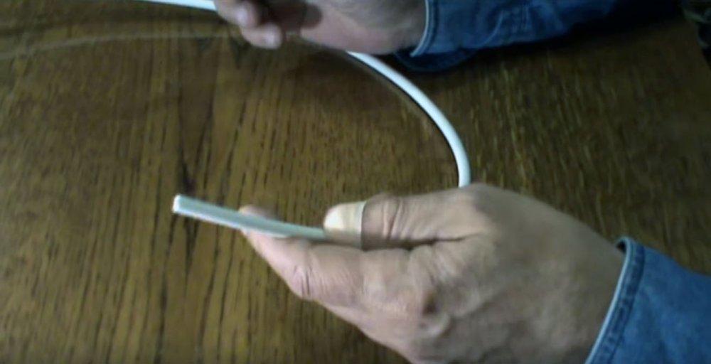 Антенна из кабеля для цифрового ТВ за 5 минут   Мастер-класс своими руками