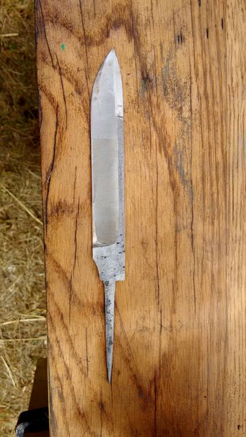 A simple knife from the file