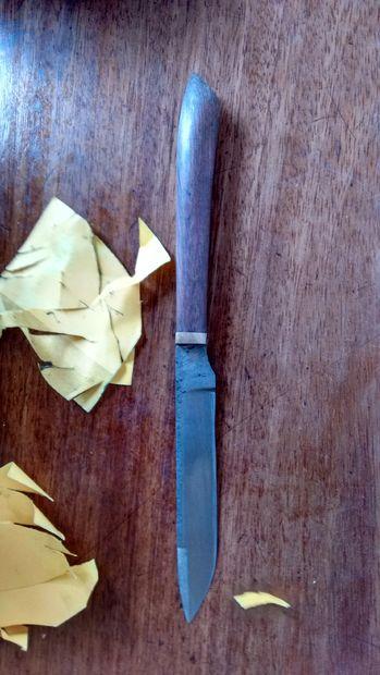 Простой нож из напильника