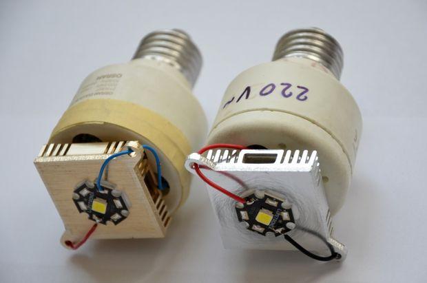 1516549224 11 - Делаем недорогую но очень мощную  светодиодную лампу