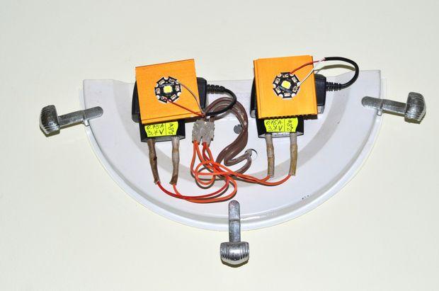 1516549286 12 - Делаем недорогую но очень мощную  светодиодную лампу
