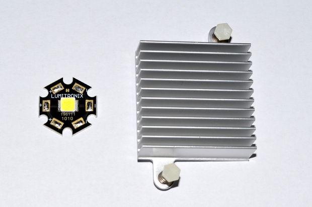 1516549290 3 - Делаем недорогую но очень мощную  светодиодную лампу