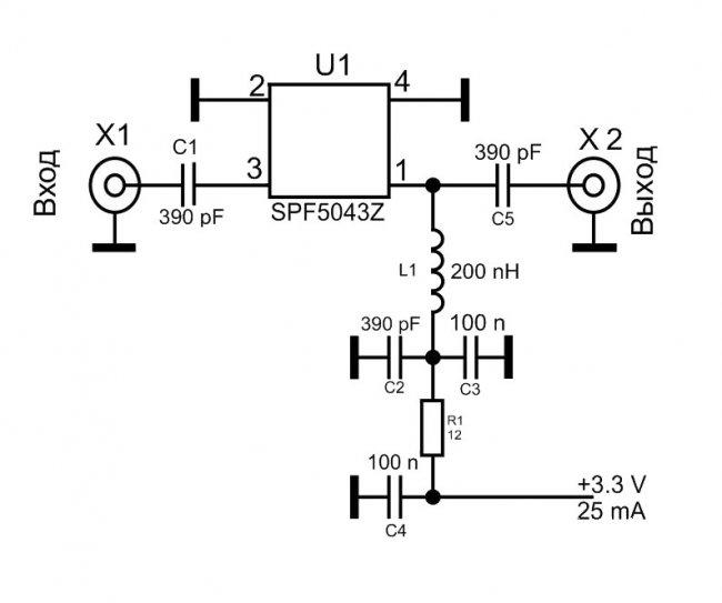 Simple Universal Antenna Amplifier