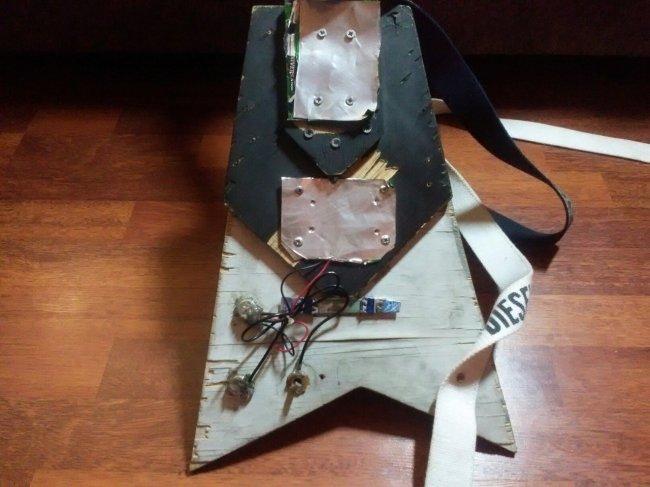 Как сделать электрогитару