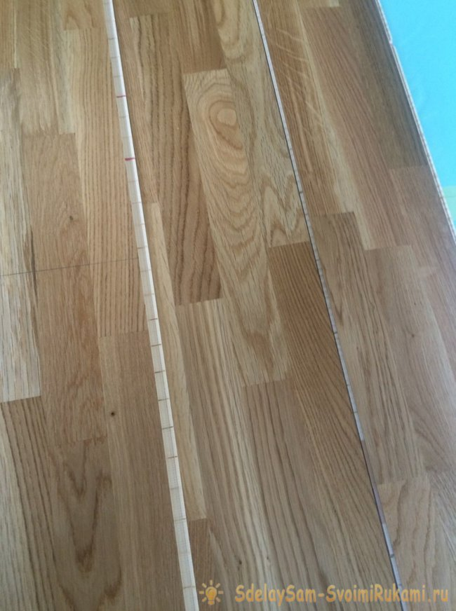 Laying laminate do it yourself