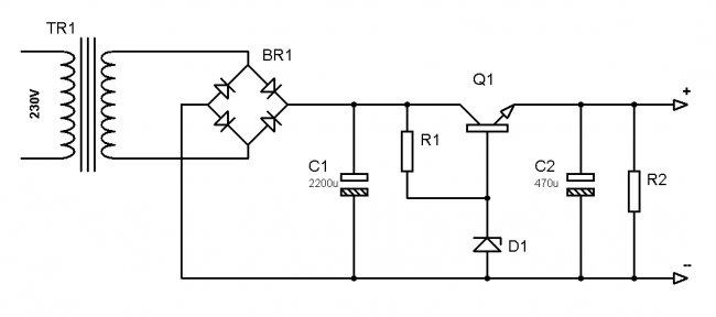 стабилизатор с вольт защитой схема 12 на