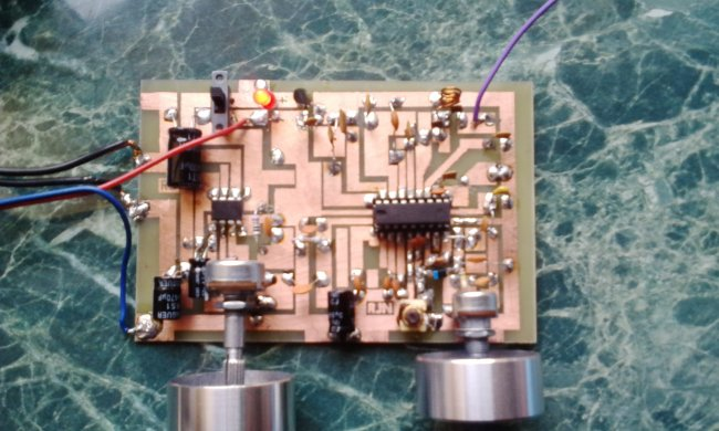 Simple FM receiver on a chip