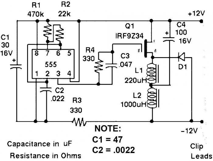 Electronic desulfator circuit