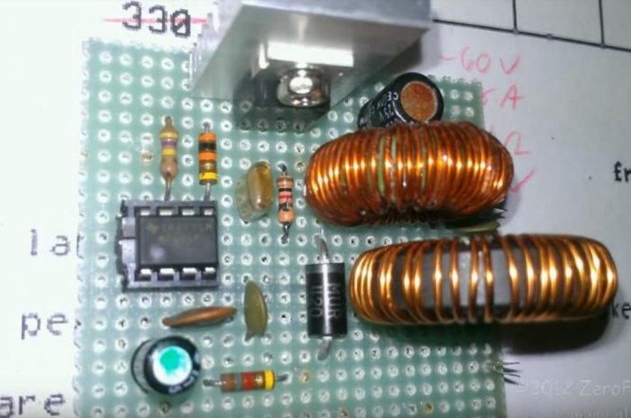 Electronic desulfator