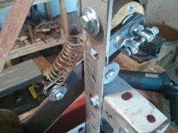 Budget belt sanding machine