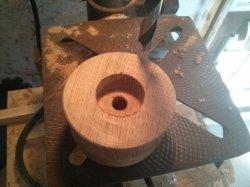 Budget belt grinder