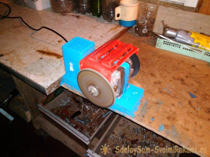 Самодельное точило из мотора от стиралки, 1 часть. - YouTube