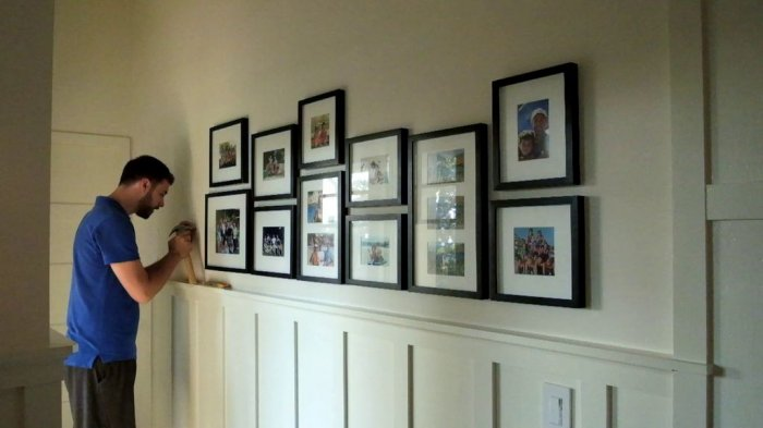 How to make a wall gallery