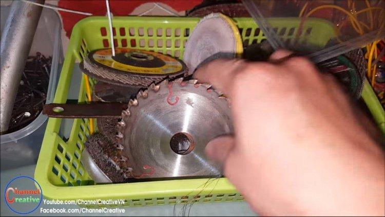 Мини дисковая пила