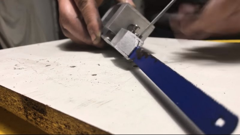 Reciprocating saw from a drill is possible