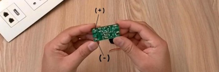Making a USB outlet