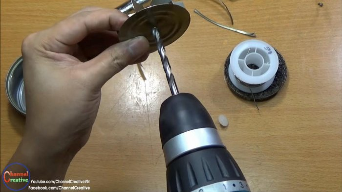 Tin can blower