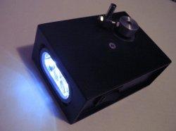 Динамо фонарик из шагового двигателя