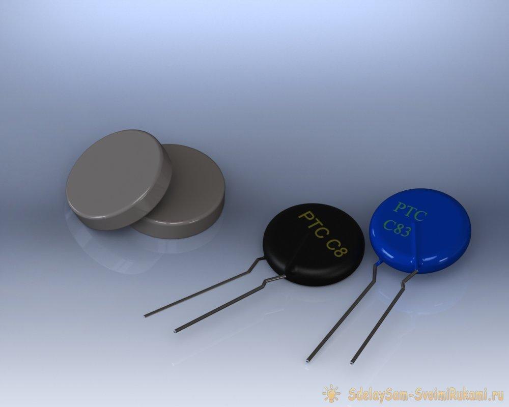 Терморезисторы. Справочная таблица.