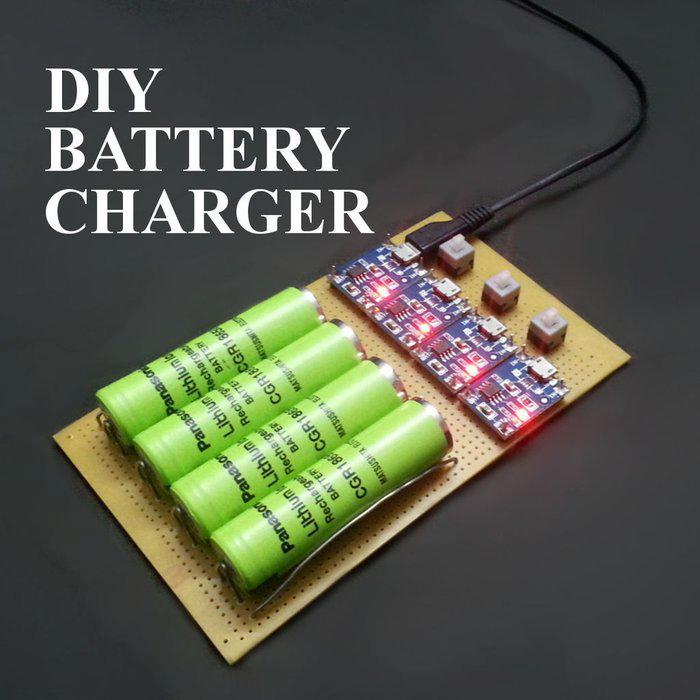 Charger for lithium-ion batteries