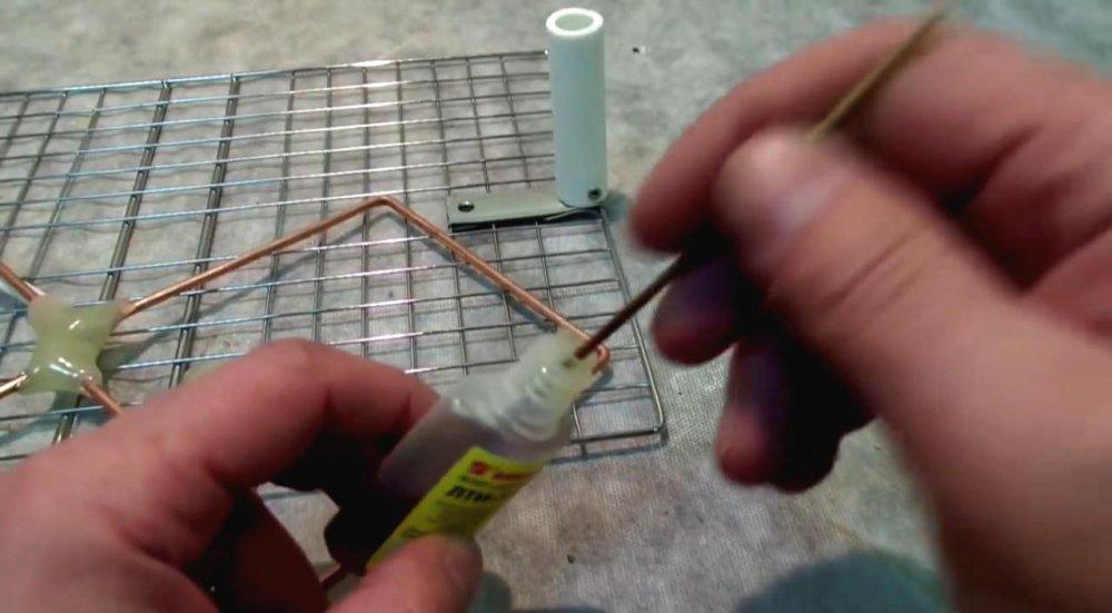 Как сделать антенну из кабеля для тв 22
