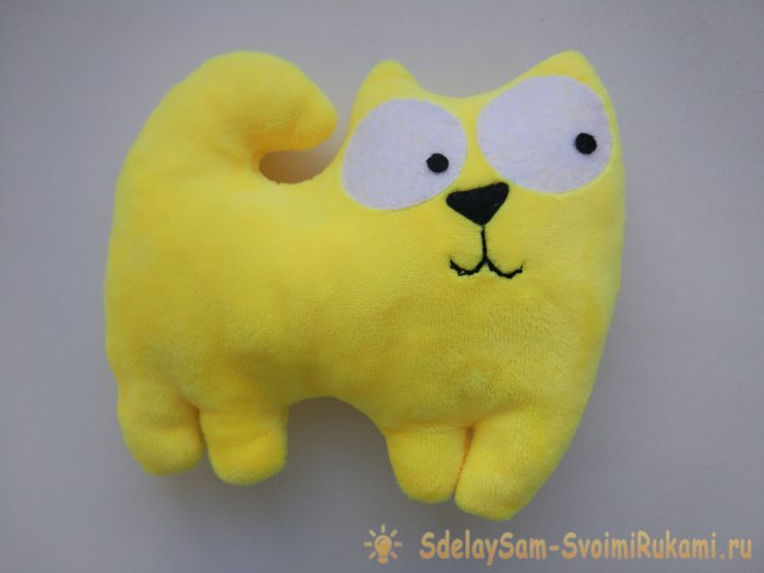 How to sew a plush toy with your own hands