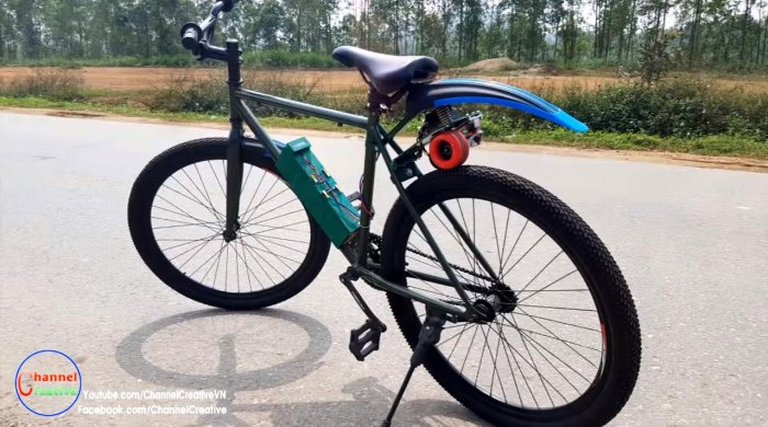 Электровелосипед на бесщеточном моторе