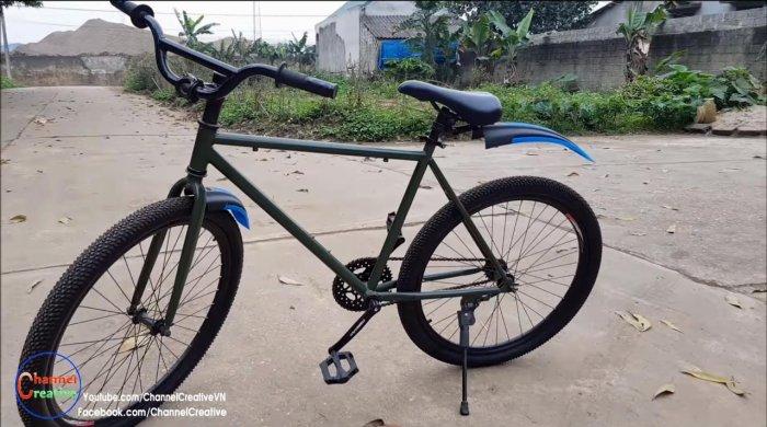 Электровелосипед на базе бесщеточного двигателя
