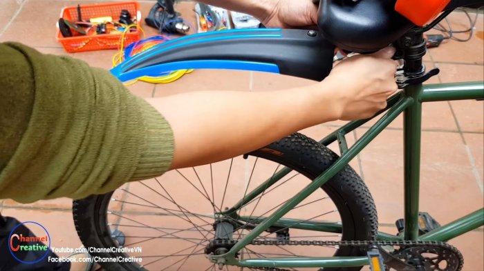 Electric bike based on brushless motor