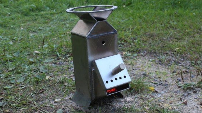 Печь-плита для кемпинга с высоким КПД