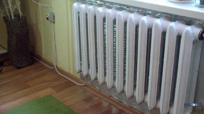 Автономное отопление на базе электрического тэна