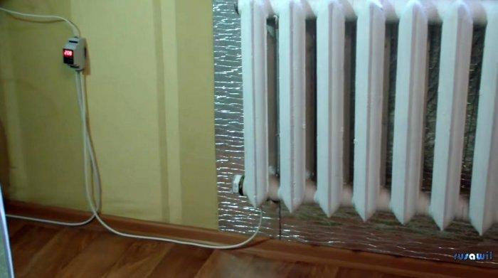Autonomous heating based on electric tena